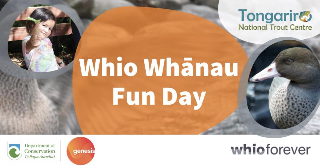 Whio Whānau Fun Day